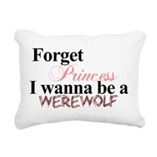 FORGETWOLF.png Rectangular Canvas Pillow