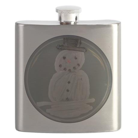 Snowman Flask