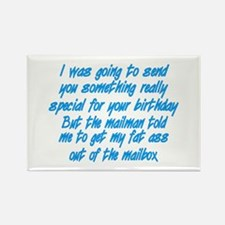 Cute Rude birthday Rectangle Magnet