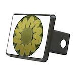 Sunflower Rectangular Hitch Cover