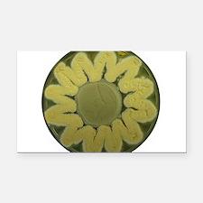Sunflower Rectangle Car Magnet