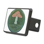 Mushroom Rectangular Hitch Cover