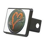 Heart Rectangular Hitch Cover