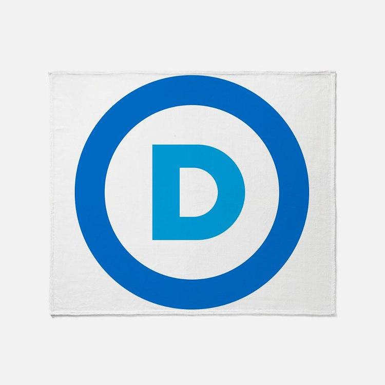 Democratic Throw Blanket