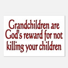 Cute Grandparents Postcards (Package of 8)