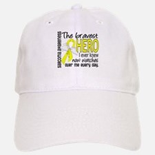 Bravest Hero I Knew Sarcoma Gifts Baseball Baseball Cap