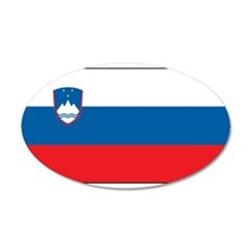 Slovenia - National Flag - Current Wall Decal