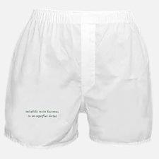 Latin Boxer Shorts