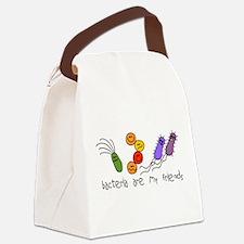 bacteria friends LT.png Canvas Lunch Bag