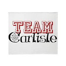 Team Carlisle Throw Blanket
