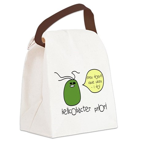 ulcer.png Canvas Lunch Bag