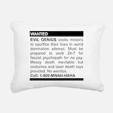 2-genius.png Rectangular Canvas Pillow