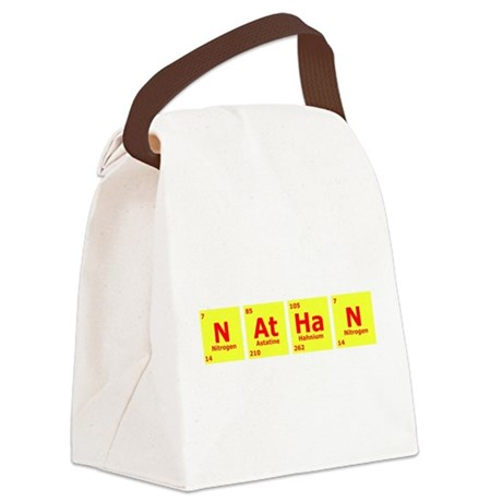 Nathan Canvas Lunch Bag