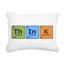 Think 2 Rectangular Canvas Pillow