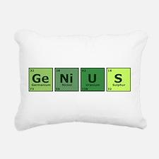 geniustrans.png Rectangular Canvas Pillow