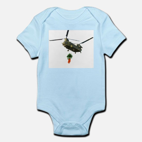 Chinook slingloading carrots Infant Creeper
