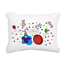 Let's Cellebrate Rectangular Canvas Pillow