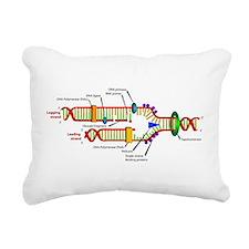 DNA Synthesis Rectangular Canvas Pillow