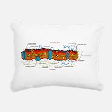 Cell Membrane Rectangular Canvas Pillow