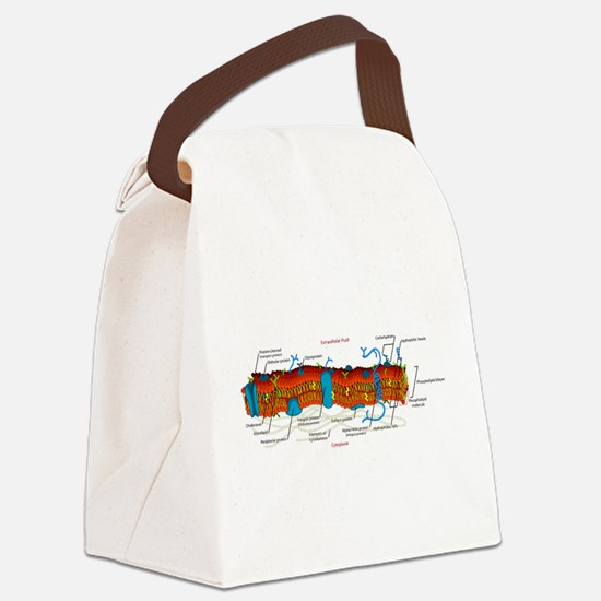 Cell Membrane Canvas Lunch Bag