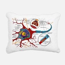Neuron cell Rectangular Canvas Pillow