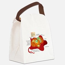 Animal Cell Canvas Lunch Bag