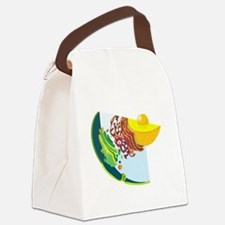 Endomembrane System Canvas Lunch Bag