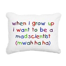 Unique When i grow up Rectangular Canvas Pillow