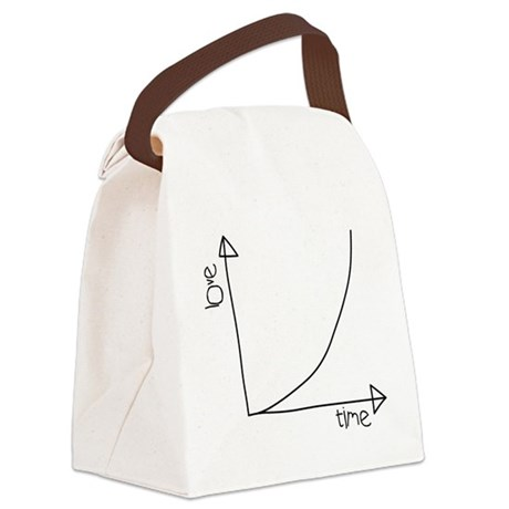 lovegraph T.png Canvas Lunch Bag
