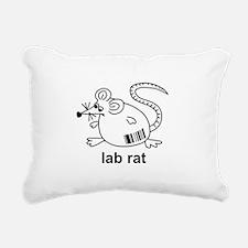 3-labrattrans.png Rectangular Canvas Pillow