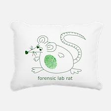 forensiclabrat.png Rectangular Canvas Pillow