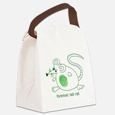 forensiclabrat.png Canvas Lunch Bag