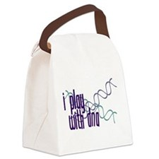 I Play with DNA Canvas Lunch Bag