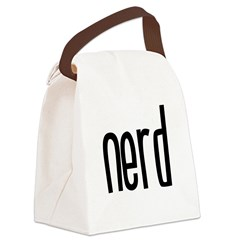 Nerd Canvas Lunch Bag