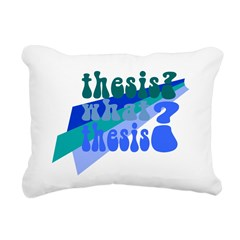 What Thesis? Rectangular Canvas Pillow
