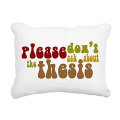 Thesis Rectangular Canvas Pillow