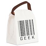 Barcode Geek Canvas Lunch Bag