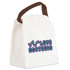 Love Bacteria Canvas Lunch Bag