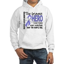 Bravest Hero I Knew Prostate Cancer Gifts Hoodie