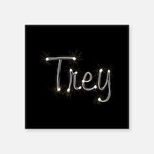 "Trey Spark Square Sticker 3"" x 3"""
