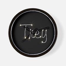Trey Spark Wall Clock