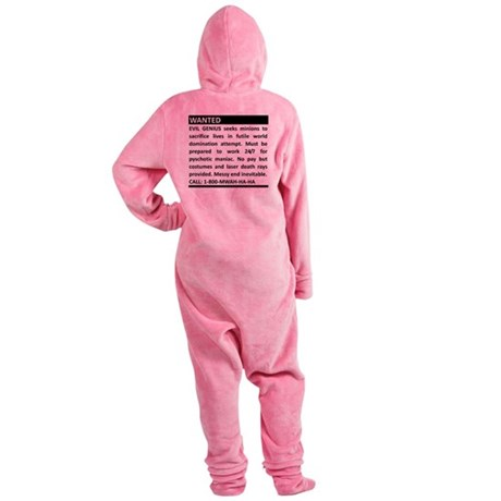 2-genius.png Footed Pajamas