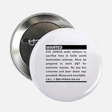 Evil Genius Personal Ad Button