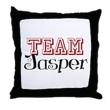 Team Jasper Throw Pillow