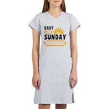 Easy Like Sunday Morning Women's Nightshirt