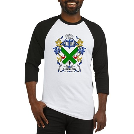 Clarksone Coat of Arms Baseball Jersey