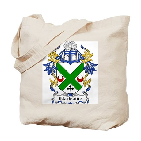 Clarksone Coat of Arms Tote Bag