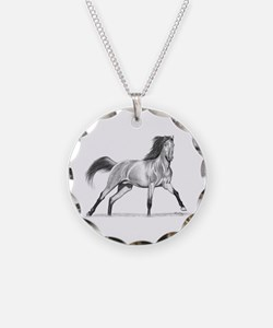 Buckskin Horse Necklace