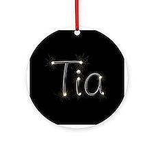 Tia Spark Ornament (Round)