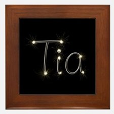 Tia Spark Framed Tile